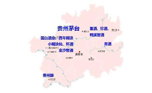 贵州茅台镇地图